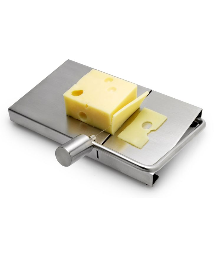 CHEESE SLICER | Sleek, Stainless Steel Board and Wire Cutter for Efficient, Modern Kitchens | UncommonGoods
