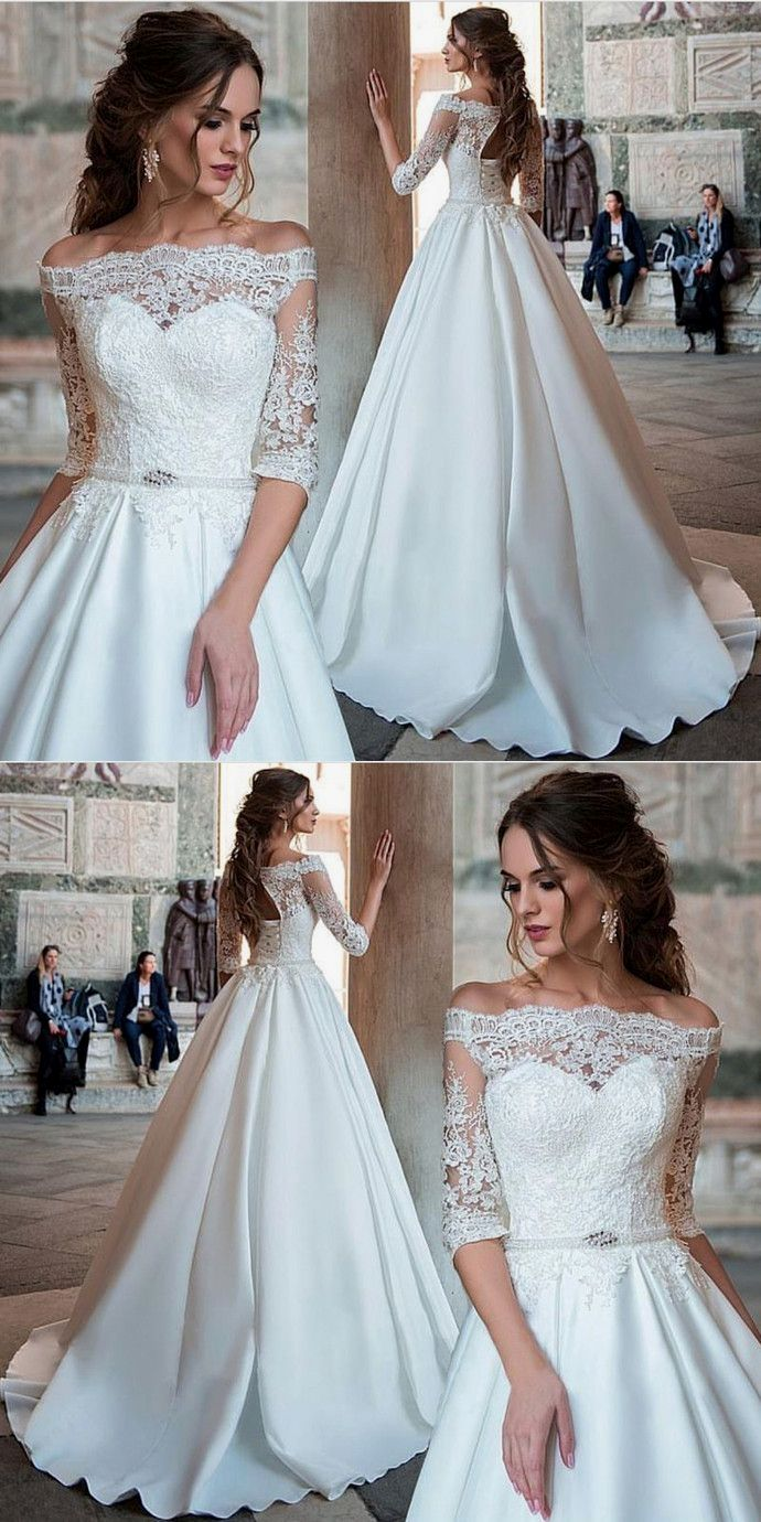 White wedding dress. Brides dream about having the ideal wedding day ...