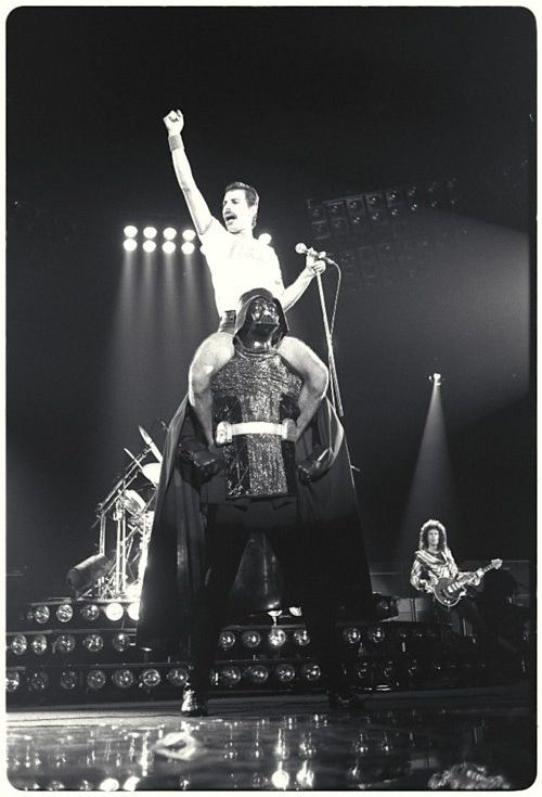 This is Freddie Mercury riding Darth Vader. Your argument is invalid.