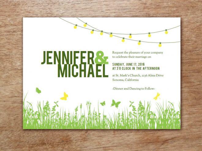 Elegant Einladungskarten Selbst Drucken? Geht Ganz Einfach Mit Tollen Vorlagen Den  E.m. Papers