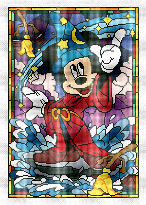 Mickey Mouse Disney cross stitch pattern BUY 2 GET 1 от AvroraCS