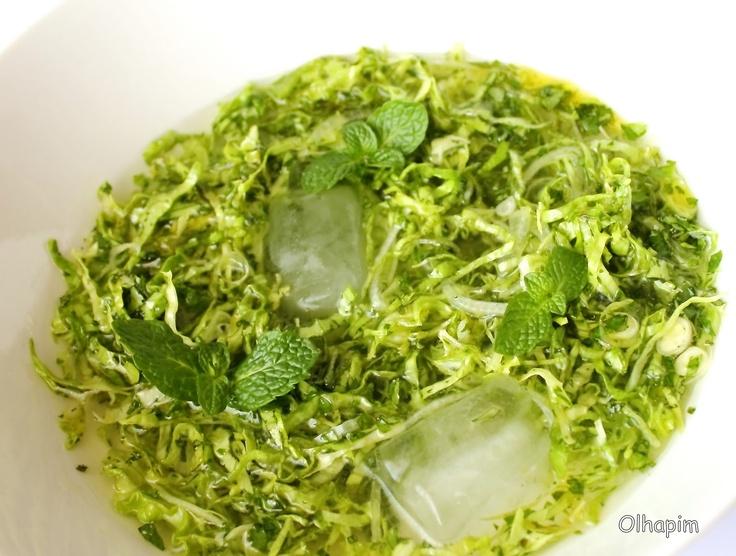 Salada de Alface à alentejana  Alentejo Food