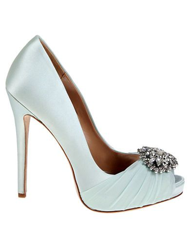 Charmant Shoes | Special Occasion | Pettal Satin Pumps | Lord And Taylor