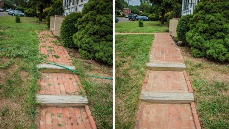 Gyomtalanítsd a kerti járdát sós ecettel | Sokszínű vidék