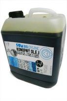 Konopný olej SUM je v BIO kvalite, mechanicky bez prístupu vzduchu lisovaný za studena vyrábaný z dobre vysušených BIO konopných semienok (ekologické poľnohospodárstvo). Obsah konopného oleja sa vyhýba akýmkoľvek prímesiam, farbivám a taktiež konzervantov. V porovnaní s rastlinnými olejmi, má konopný olej SUM najvyšší podiel polynenasýtených mastných kyselín Omega 6 a Omega 3 (až 80%). Pomerom 3:1 sa tak stáva dokonale vyváženým pomerom pre ľudský organizmus a tým jediným zdrojom vôbec.