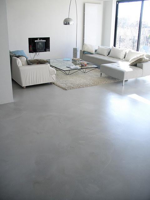 Sol la résine minérale® by art floor béton ciré, via Flickr
