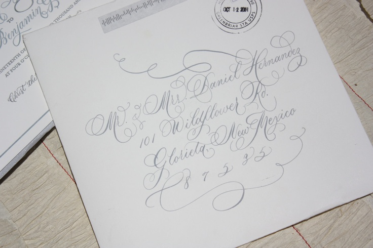 Calligraphy Via Redbird Paperie Calligraphy