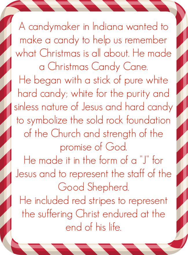 candy cane christmas poems christmas ornaments christmas crafts cane ...