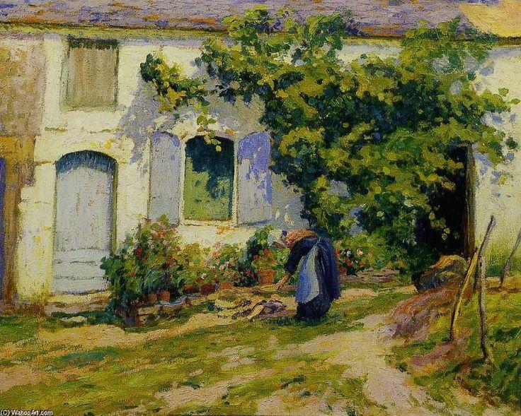La Treille de Paul Madeline (1863-1920, France)