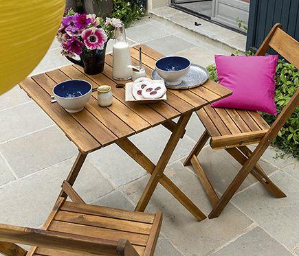 Nueva colecci n de muebles de jard n haz de tu terraza un - Mesas de terraza leroy merlin ...