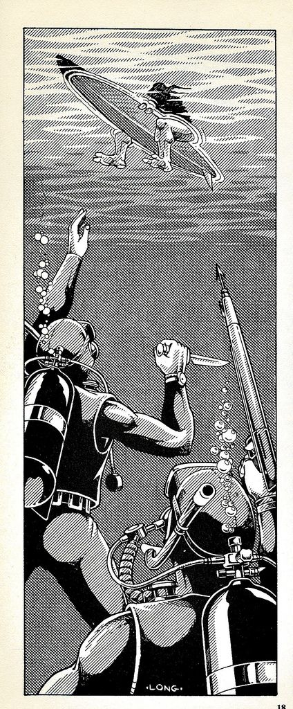 "https://flic.kr/p/4JCb7k | Palladium Books presents ""Turtles go Hollywood"" by Daniel Greenberg :: Foot Frogmen ..art by Kevin Long (( 1990 )) 