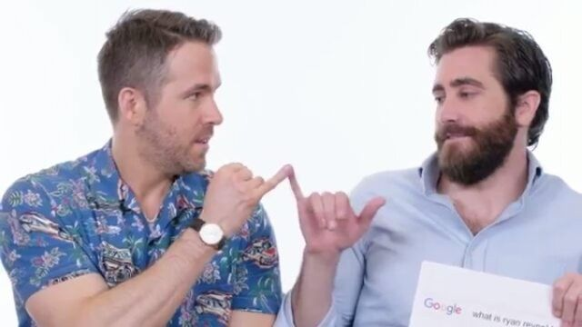 Jake and Ryan Reynolds answering the Web's most searched questions for WIRED. (Part 7/7) Last one, enjoy!  #JakeGyllenhaal #lifemovie #texas #nocturnalanimals #losangeles #movie #movies #film #premiere #hollywood #Festivals #cine #cinema #actor #actress #fashion #style #gyllenhaal #rebeccaferguson #movietrailer #deadpool #deadpool2 #ryanreynolds #sxsw #sxsw2017