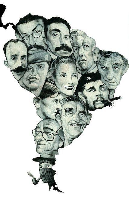 ¿Conoces o reconoces a algunos de estos personajes? -- Fernando Vicente.