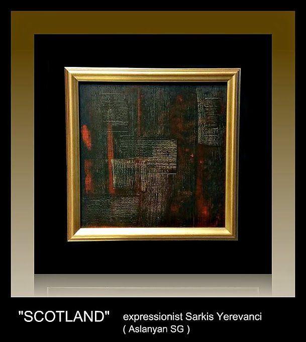 """""""Шотландский виски"""" - Изобразительное искусство - Масло, акрил"""