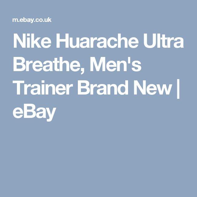 Nike Huarache Ultra Breathe, Men's Trainer Brand New | eBay