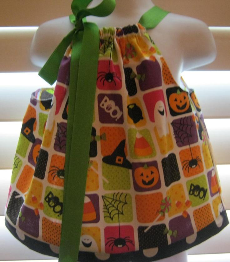 Halloween Pillowcase Dress.