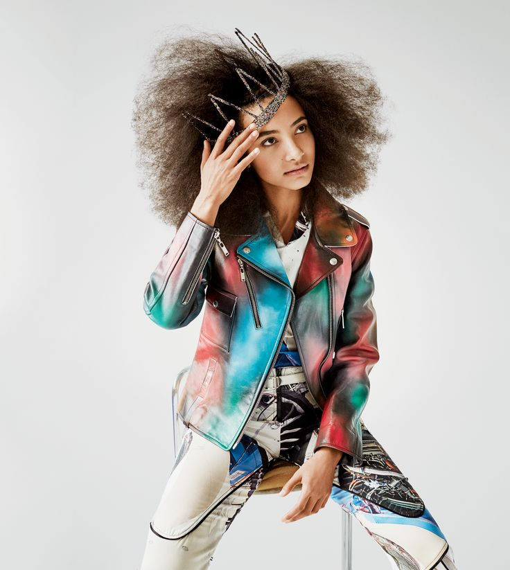 Esperanza Spalding Has a Brand-New Beauty Alter Ego—And It's as Surreally Chic as You'd Expect