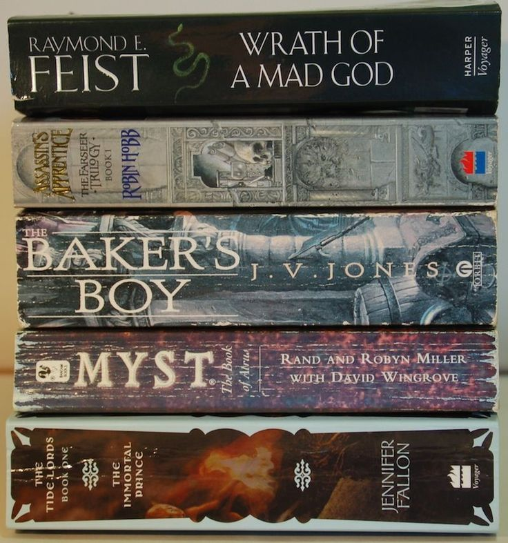 5 Fantasy Novels FEIST, HOBB, JONES, MILLER, FALLON (4 x 1st of series)
