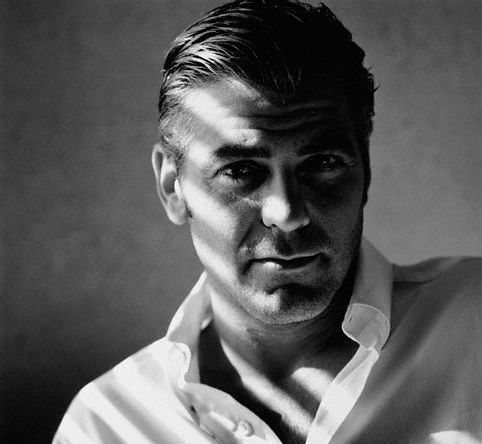 George Clooney - reminds me of Clark Gable