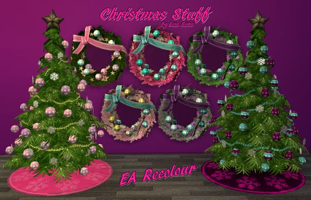 Sims 4 CC's - The Best: CHRISTMAS STUFF FOR GIRLS by My Sims 4 World