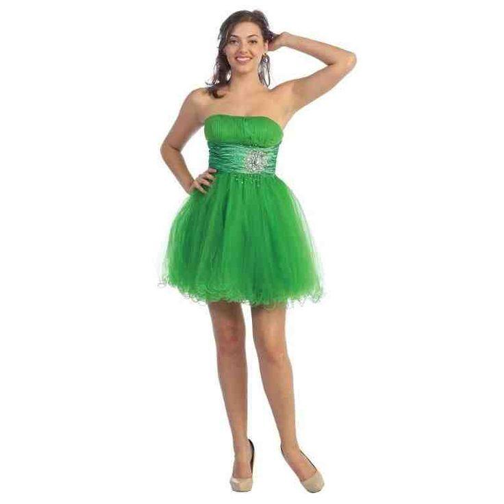 Neon Green Prom Dresses 2017