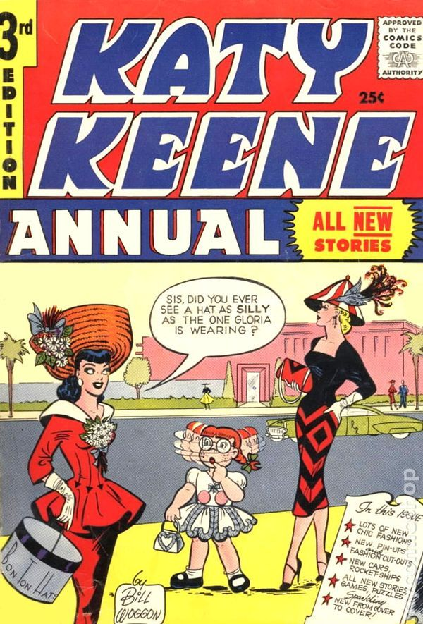Laugh #117 1960-Archie-Betty-Veronica-Katy Keene-FN