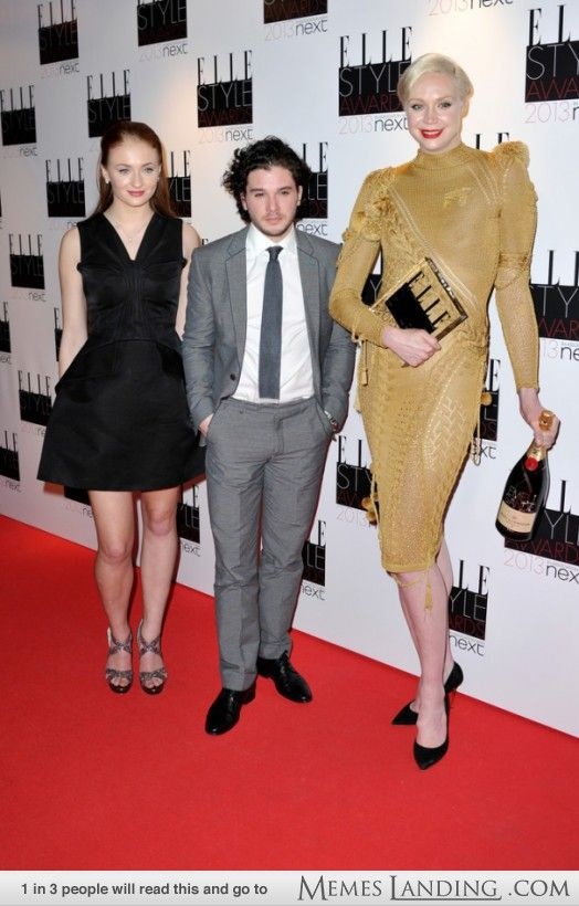 Sophie Turner, Kit Harington & Gwendoline Christie | Yes ...