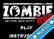 Zombie Run [in the big City]   Juegos de Plants vs Zombies - Online Gratis