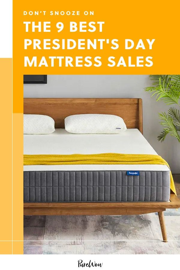 Don T Snooze On The 8 Best President S Day Mattress Sales In 2020 Mattress Sales Home Interiors And Gifts Unique Home Decor