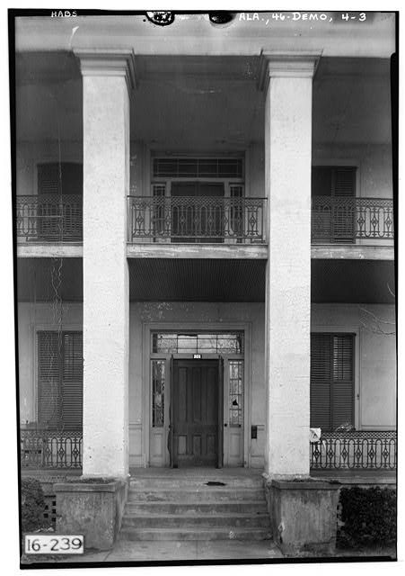Lyon House, 102 South Main Street, Demopolis, Marengo County, AL - Photos from Survey HABS AL-239   Library of Congress