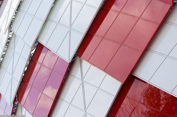 Otkritie Arena | FC Spartak | Moscow|  stadium design | sport design | facade design | 2018 FIFA World Cup