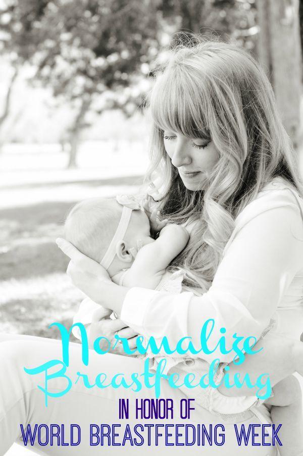 The humorous side of breastfeeding, in honor of world breastfeeding week.