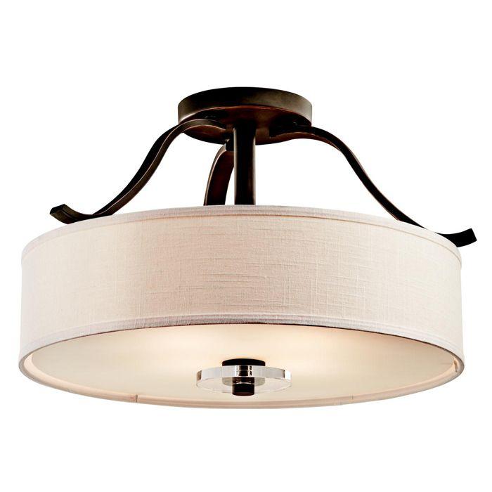 Louie lighting kichler lighting 42486oz leighton 4 light semi flush mount olde bronze 319 00