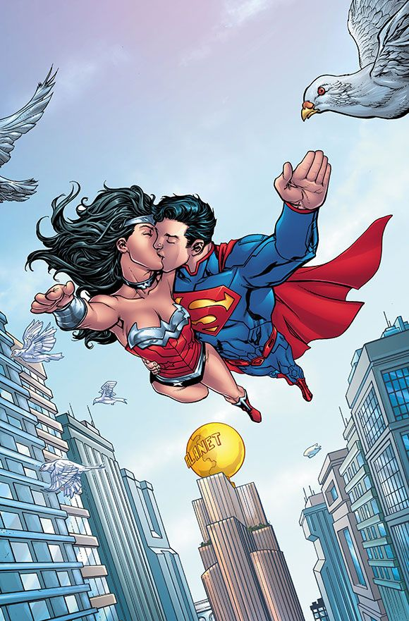 Superman wonder woman futures end 1 september 2014 - Superman wonder woman cartoon ...