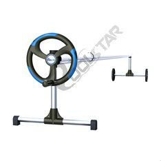 this pool cover rollers has light weight and more economical. swimming pool cover roller