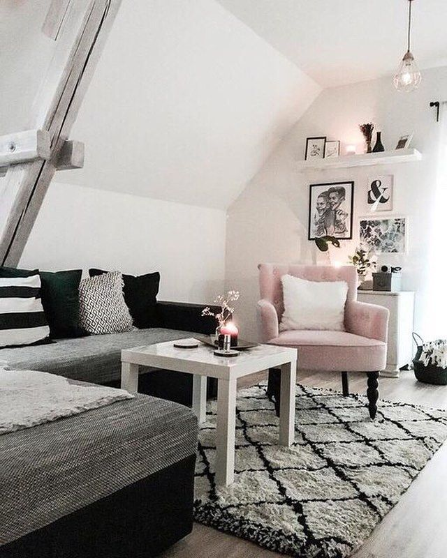 """Gefällt 2,858 Mal, 14 Kommentare – Westwing (Westwing Home & Living Deutschland) auf Instagram: """"Black & White mit einem Highlight in rosa! Was fü…"""
