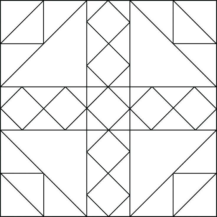 Quilt Block Arte Y Diseno Disenos De Unas Forma Geometrica