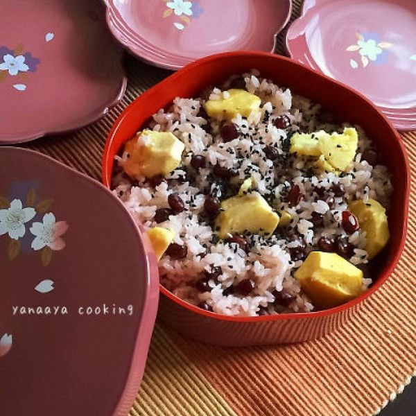 運動会やお祝いにも♡炊飯器で、旬!栗赤飯 by AYA   レシピサイト ...