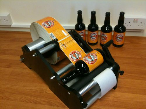 bottling labeling machine