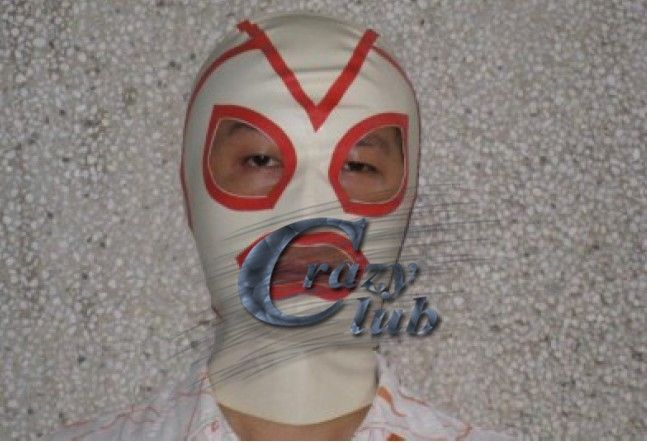 (43.62$)  Buy here - http://air6y.worlditems.win/all/product.php?id=2011576813 - Crazy club_ White Natural Latex Hood Rubber Mask Open Red Eyes and Mouth Handmade for adults Spliced Latex Hood Fast Delivery