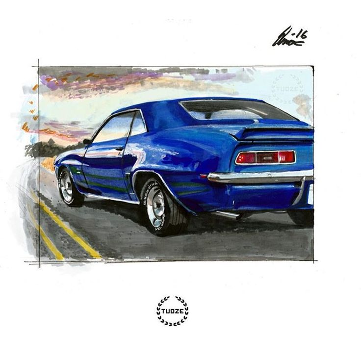 Chevrolet marker painting