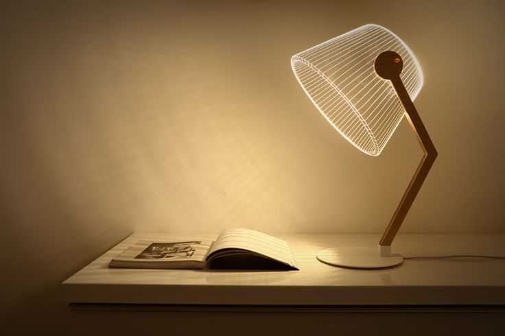 Cool Product Alert: The 3D Illusion Creating Ziggi LED Lamp