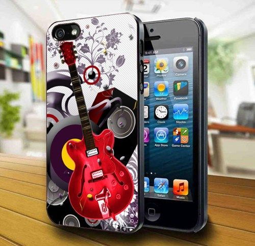 Guitar 3D iPhone 5 Case   | kogadvertising - Accessories on ArtFire