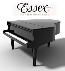 See a list of models, sizes, and prices for Essex pianos | via Piano Price Point