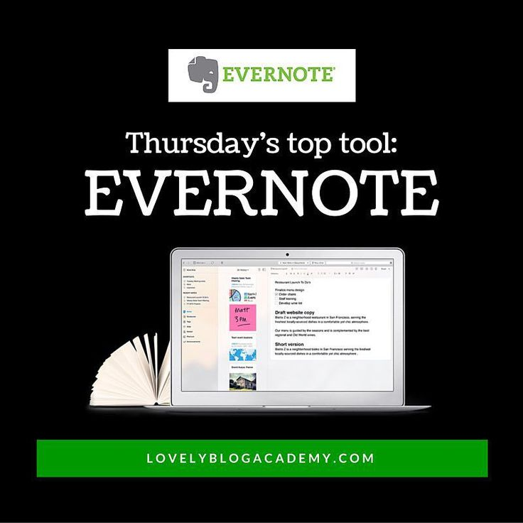 My top tool this Thursday is @Evernote. Yes youve heard of it (you might even have it installed) So why do I love it? Well two weeks ago I read @michaelhyatts blog post about using TAGS to organise notes instead of notebooks and well this revolutionised everything! I feel like the simple tagging system UNLOCKED Evernotes full potential. Now I couldnt do without it Ive been using it every day to organise my projects save invoices draft blog posts collect Instagram hashtags and sooo much more! I wont explain the whole system and how it works you can learn that from Michaels post here: http://ift.tt/1mkIkwV