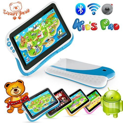 """Smart Bear Kids Pad Children Tablet PC 7"""" Parental Controls Android Educational Software Ships from USA!"""