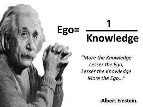 Kennis - Ego Albert Einstein