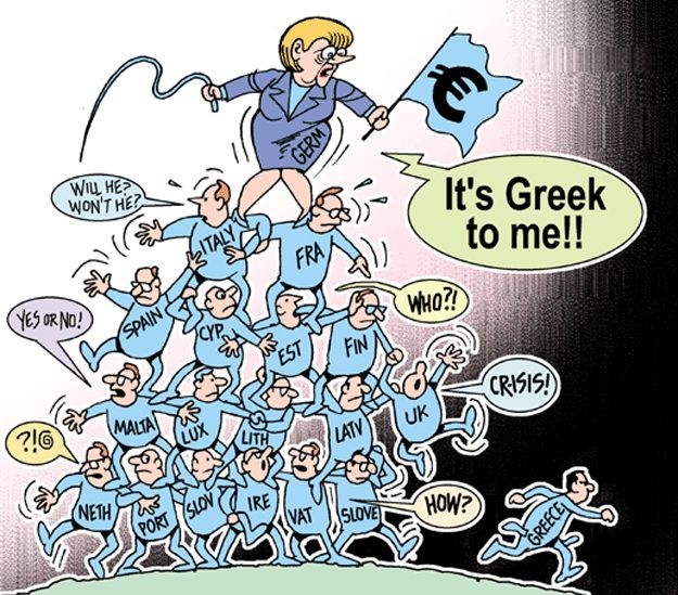 Greece and Eurozone- Times of India - The Times of India