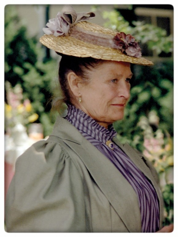 Marilla Cuthbert  No one was ever more perfectly cast. I love how she would get dressed up to pay a call on a friend.