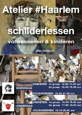 nieuwe schilderlessen folder Atelier #Haarlem - Google+